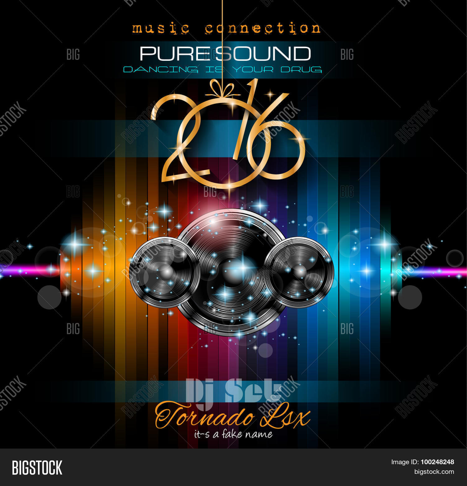 2016 Happy New Year Vector & Photo (Free Trial) | Bigstock