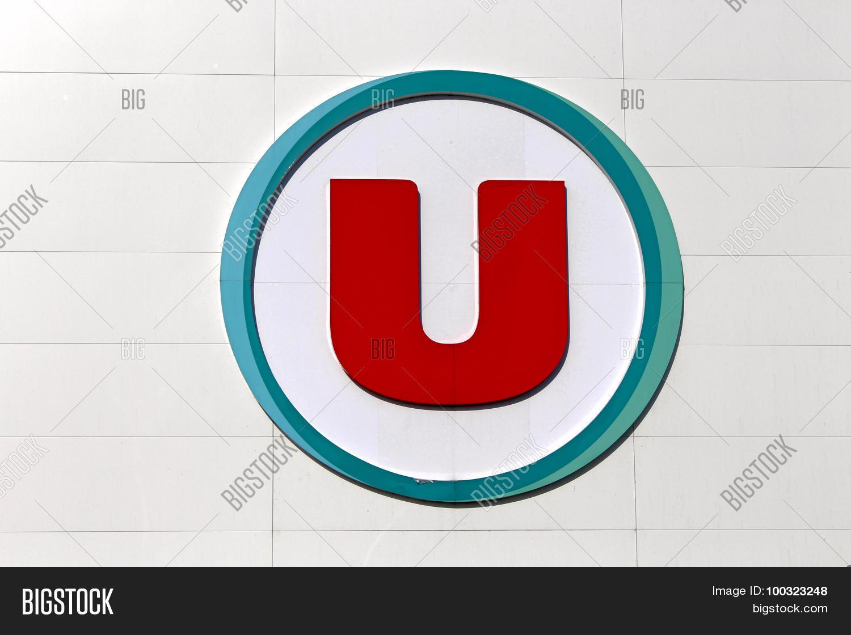 Logo Brand Super U Image & Photo (Free Trial)   Bigstock