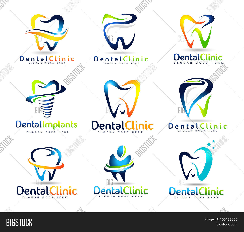 dental dentist logo vector photo free trial bigstock