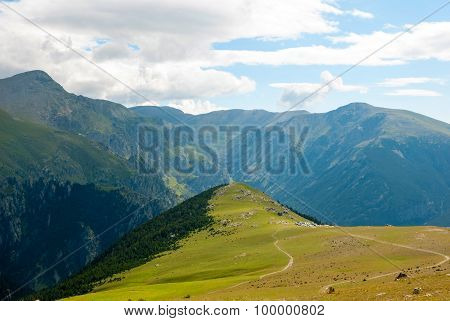 View Over Pyrenees Mountains, Spain