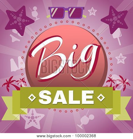 Summer Big Sale Promotion.