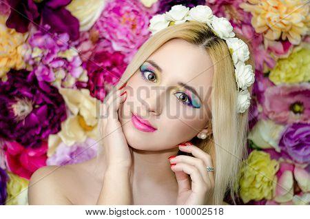 Flower beauty girls