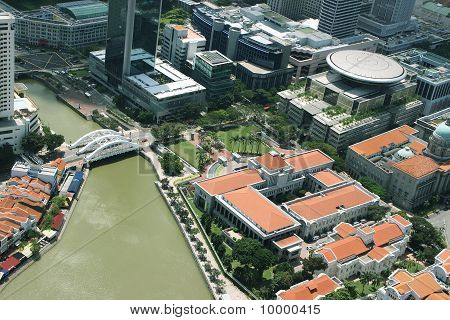 Singapore city scene landscape