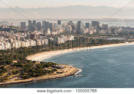 Flamengo Beach in Rio de Janeiro, Brazil