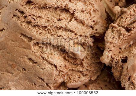 Close-up of chocolate ice cream