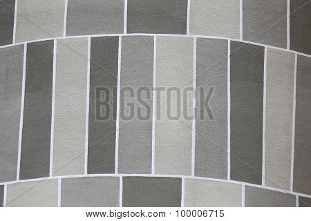 Pattern Of Building Cement Wall.
