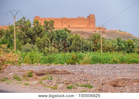 Kashbah in the Draa valley, Morocco