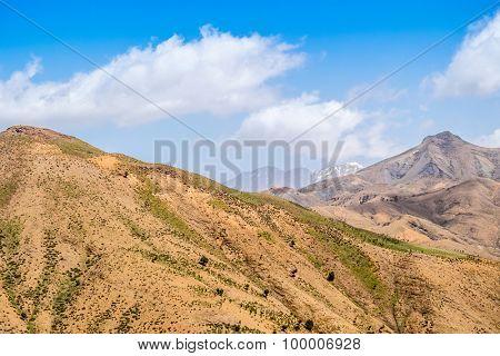 High Atlas mountains, Morocco (view from Tizi-n-Tichka pass)