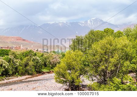 High Atlas mountains, Morocco (between Ourzazate and Tizi-n-Tichka pass)