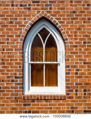 Small Gothic Church Window