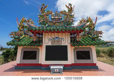 Chinese Cemetery in Ishigaki Island, Okinawa Japan