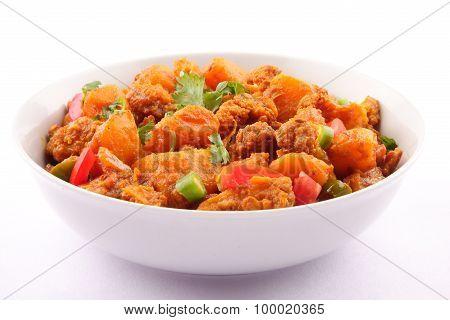 Famous Indian curry dish -Aloo Gobi