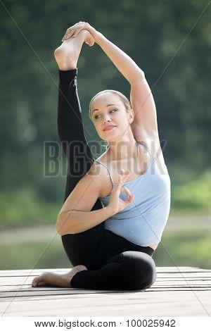 Compass Yoga Pose