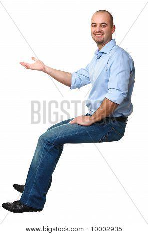 Sit White Man