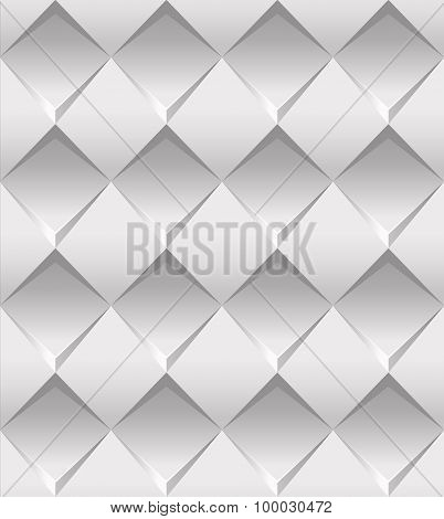 Vector Seamless Slylish White Pattern