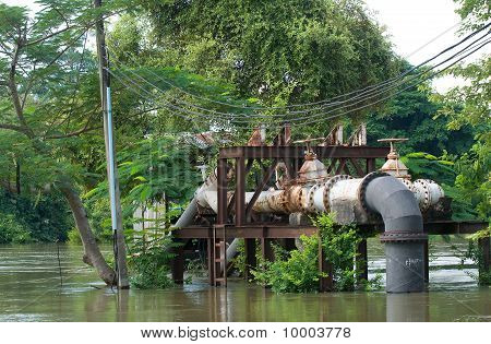 Flooded Pump Station