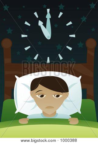 Little Boy Got Insomnia