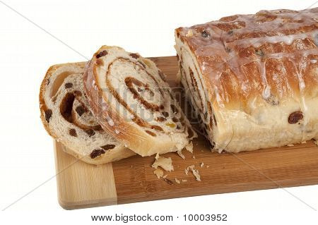 Rolled Cinnamon Raisin Bread