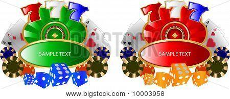 Casino Lable C.eps