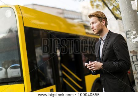 Young Man On The Street