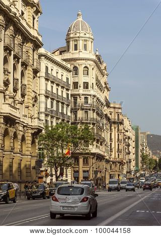 Typical Architecture Of Barcelona
