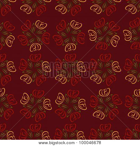 Pattern of Roses