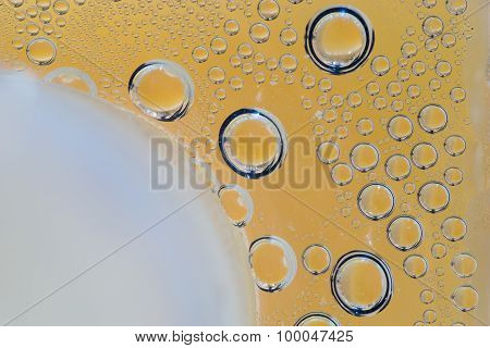 Water Drops On Glasses