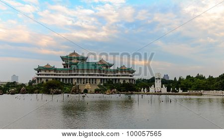 People's Palace school. Pyongyang.