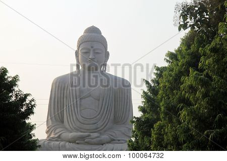 Giant Buddha at Bodh Gaya