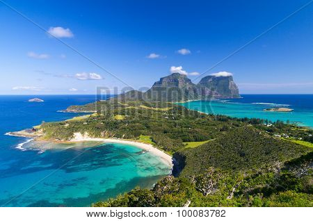 View Over Lord Howe Island