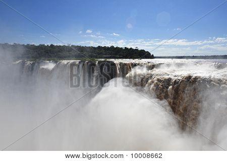 Iguazu Falls Top View