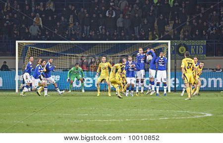 Metalist Kharkiv Vs. Sampdoria Genoa