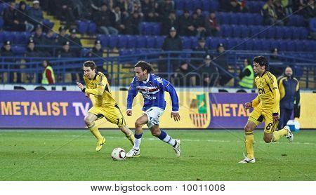 Sampdoria Genoa Mf Daniele Mannini