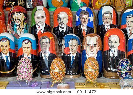 Matryoshka Doll And Politicians