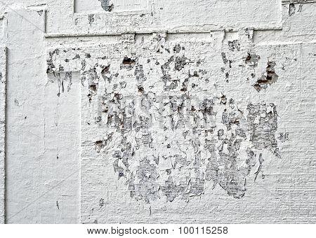 Wall Peeling Paint