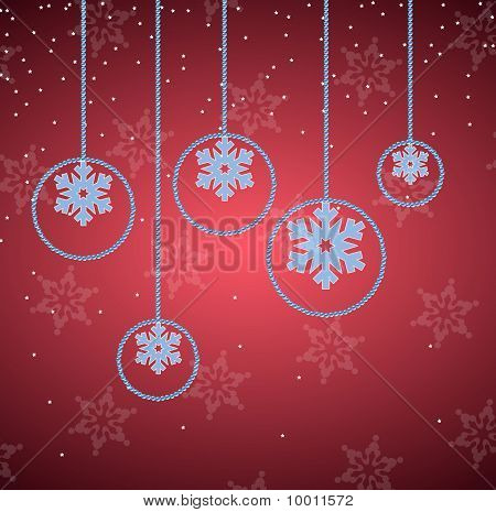 Elegant Red Christmas Background. More In Portfolio