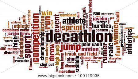 Decathlon Word Cloud