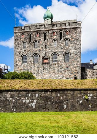 Rosenkrantz Tower At Bergenhus Fortress