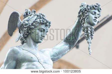 Perseus By Benvenuto Cellini  - Florence, Italy