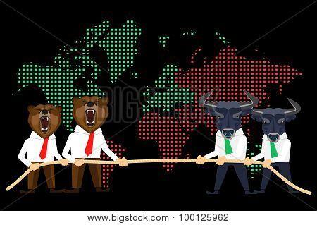 Financial market global crisis