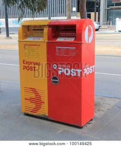 Australia post mail box