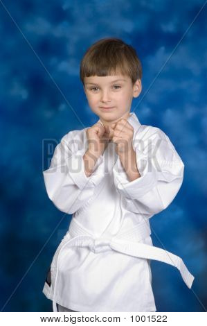 little white belt