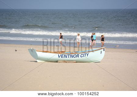 Ventnor Lifeguard Boat