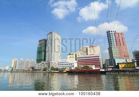 Cityscape Of Manila, Philippines
