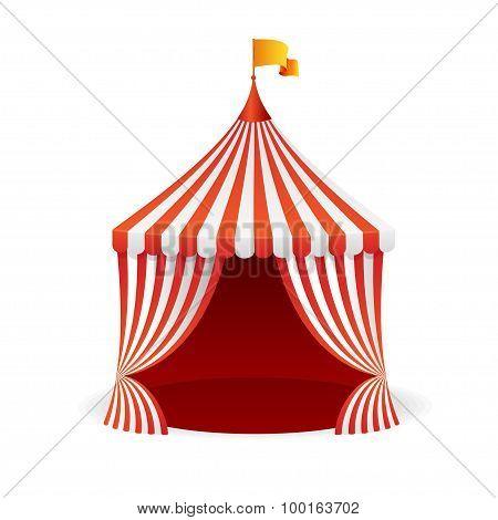 Circus Tent. Vector