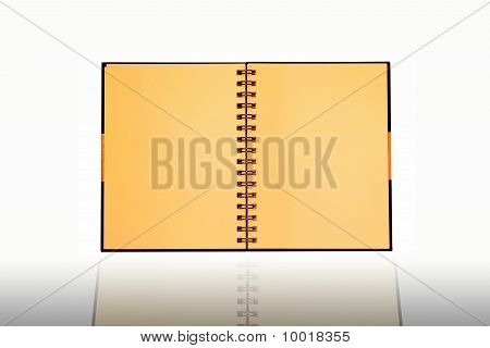 Face of notebook