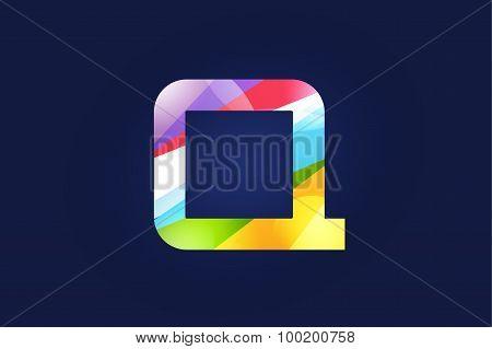 Q letter vector logo icon symbol