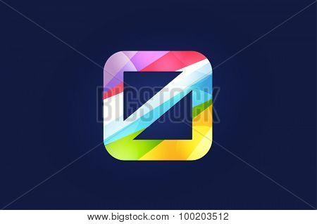 Zero 0 letter vector. Zero logo icon template. Zero symbol silhouette. Zero isolated icon, Zero line style letter, Zero logotype, Zero logotype, Zero modern symbol, Zero company name brand.