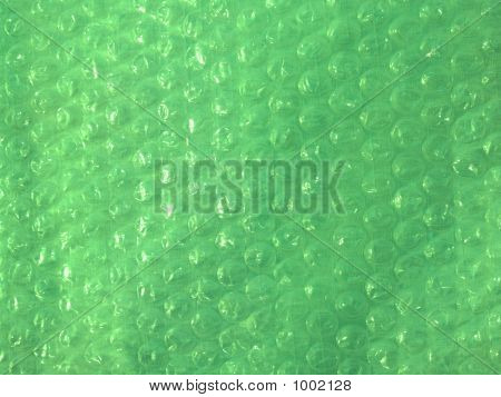 Bubble Wrap In Lime Green