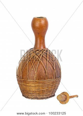 Dried Bottle Gourd Used For Traditional Canteen